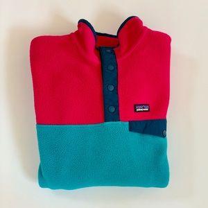 Patagonia Girl Colorblock Synchilla Fleece
